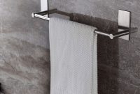 Taozun Adhesive 16 Inch Bathroom Towel Bar throughout sizing 1000 X 1000