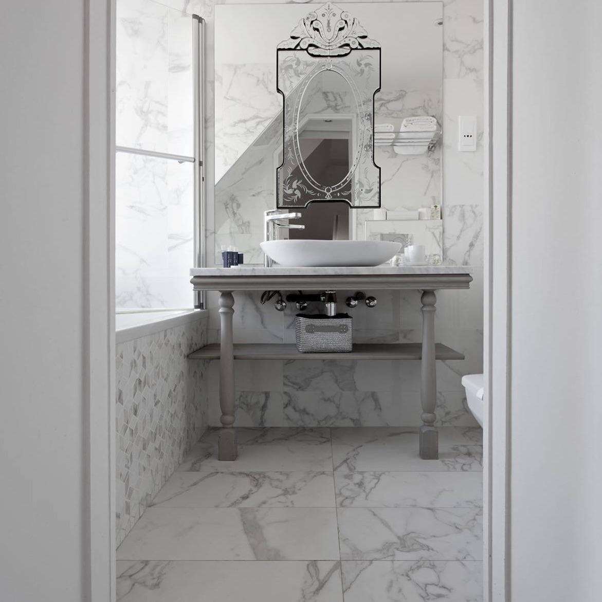 The Ten Best Tiles For Small Bathroom Spaces Porcelain regarding size 1171 X 1171
