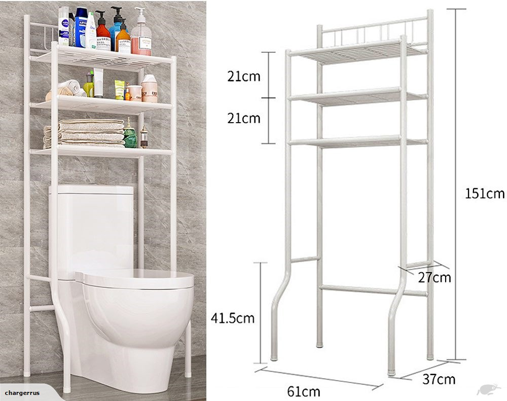 Toilet Storage Rack Bathroom Shelf regarding sizing 1000 X 791