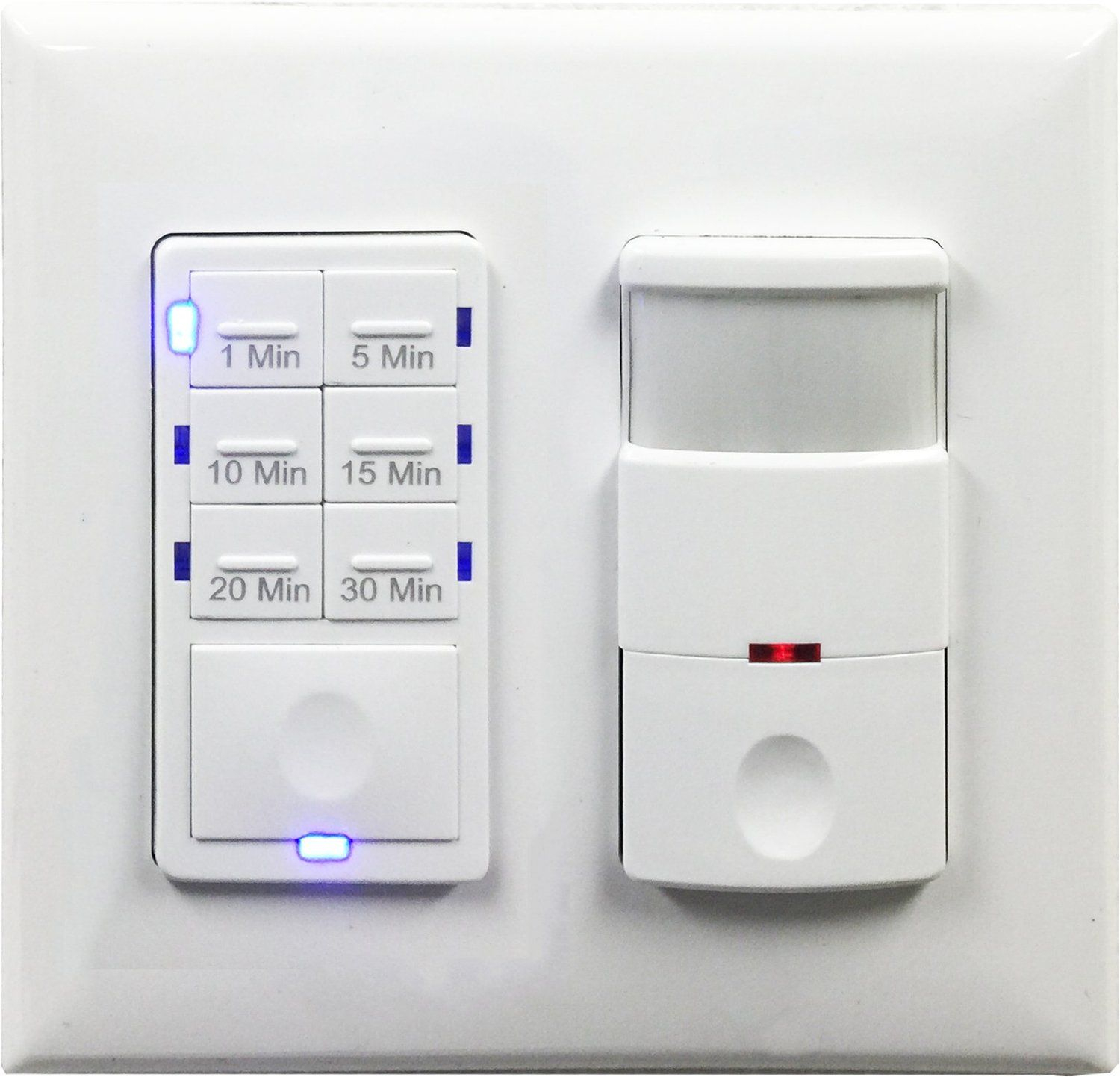 Topgreener Tdos5 Het06a Bathroom Fan Timer Switch And Light within size 1500 X 1442