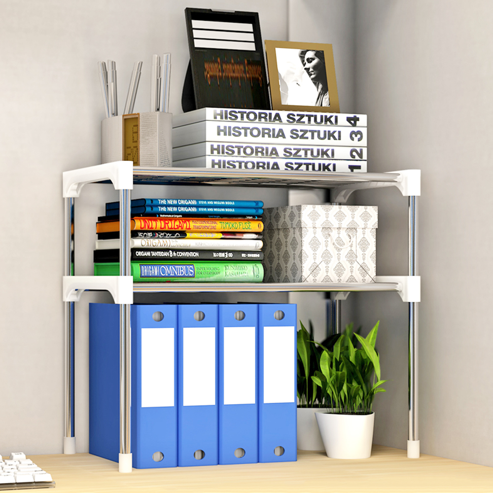 Us 1892 35 Off2 Tier Bathroom Book Shelf 3 Tier Multi Functional Kitchen Storage Shelf Table Rack Microwave Oven Shelving Unit In Storage Holders for measurements 1000 X 1000