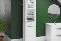 Vida Milano 40 X 190cm Mirrored Free Standing Tall Bathroom Cabinet throughout dimensions 2000 X 2000
