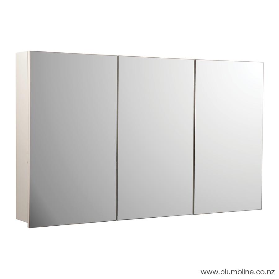 Vista 1200 Mirror Cabinet inside measurements 900 X 900