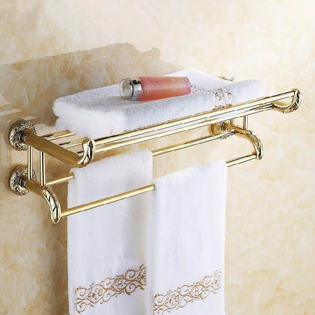 Wall Mounted Bathroom Towel Rack Standard Height Of A in measurements 1024 X 1025