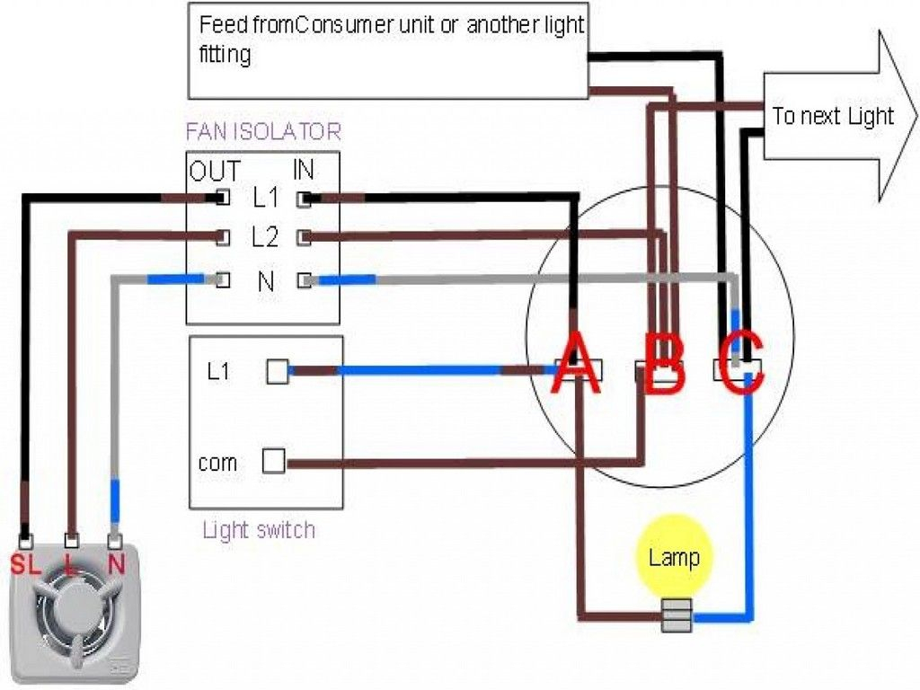 Wiring Diagram For Bathroom Fan Isolator Switch Wiring for size 1024 X 768
