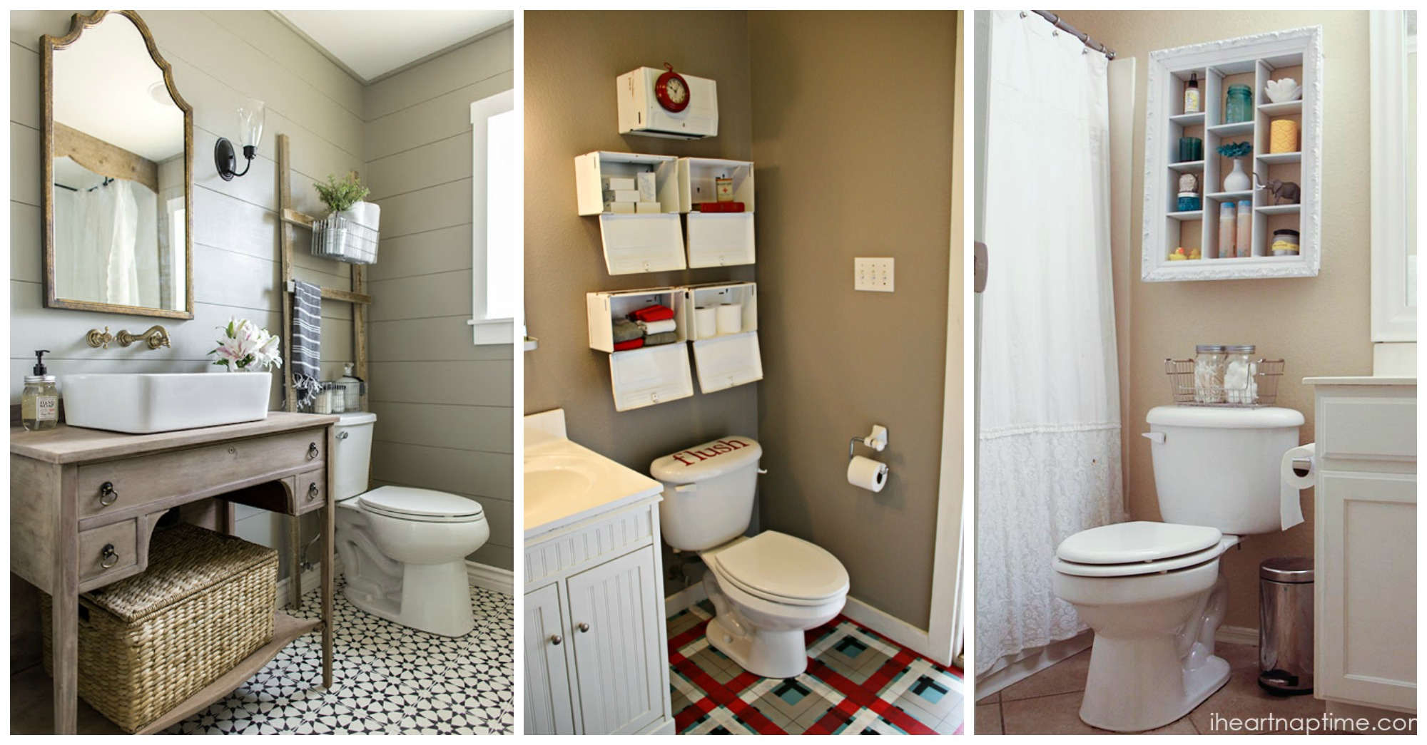10 Amazing Over The Toilet Storage Ideas For Small Bathrooms inside measurements 2000 X 1045