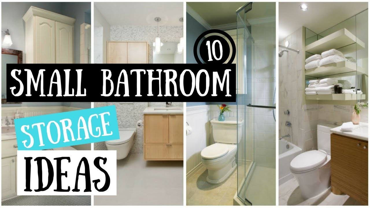 10 Small Bathroom Storage Ideas That Will Transform A Tiny Space with proportions 1280 X 720