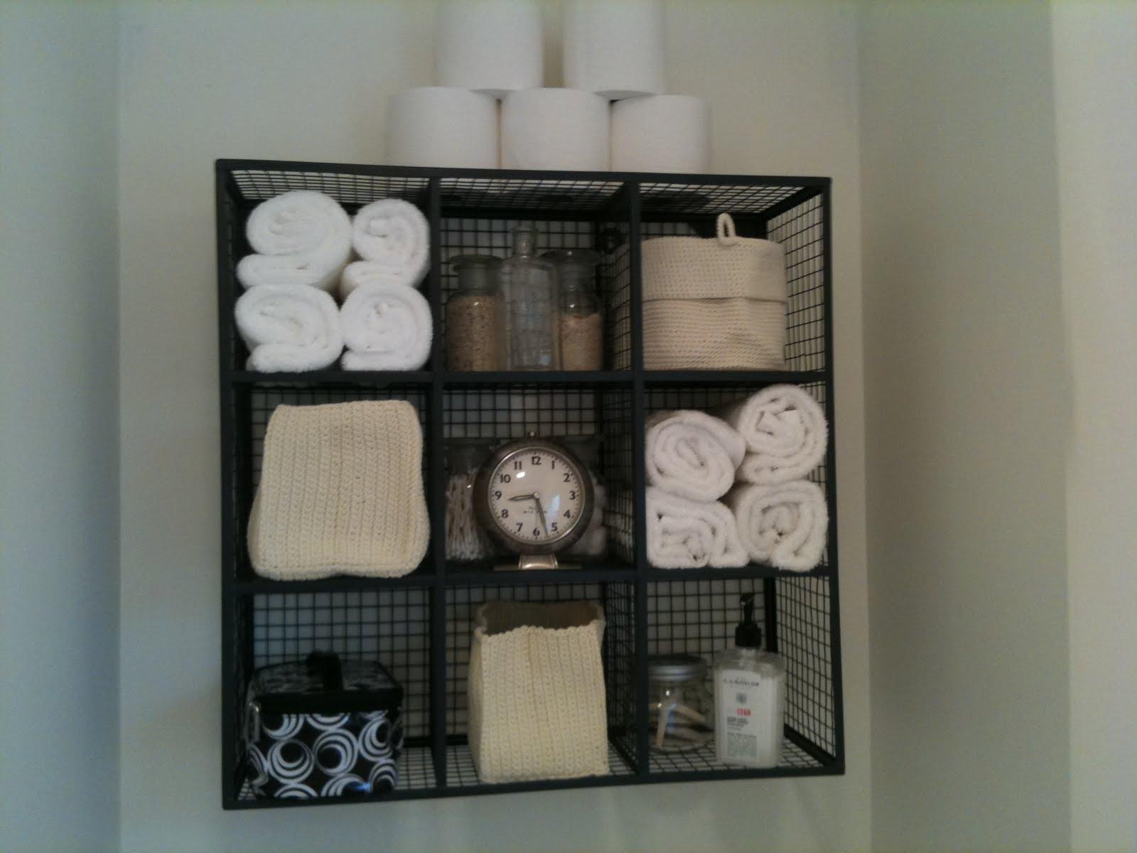 17 Brilliant Over The Toilet Storage Ideas regarding size 1600 X 1200