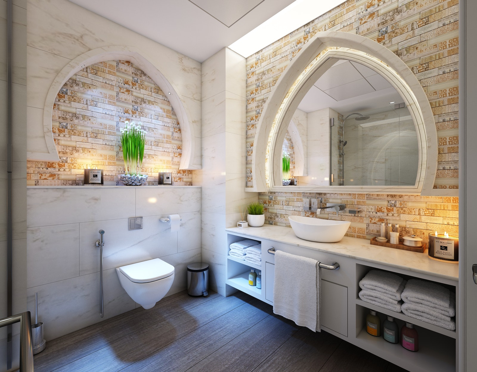 18 Alluring Ways To Organize A Bathroom Without Drawers And with measurements 1600 X 1250