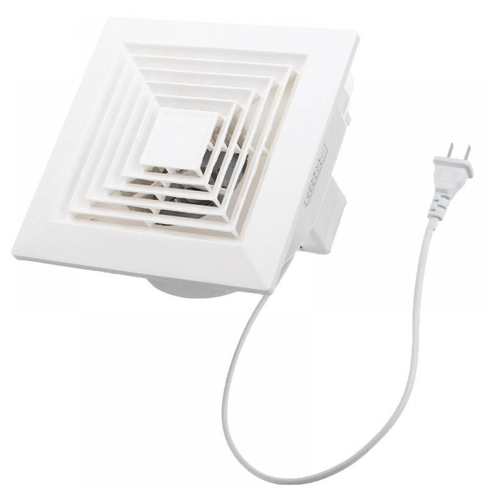 1pcs White 32w 220v Ventilation Extractor Exhaust Fan Blower pertaining to size 1000 X 1000