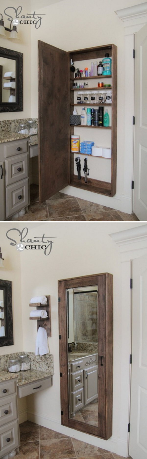 20 Clever Bathroom Storage Ideas Hative with regard to proportions 600 X 1866
