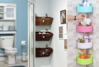 20 Small Bathrooms With Creative Storage Ideas regarding sizing 1280 X 720