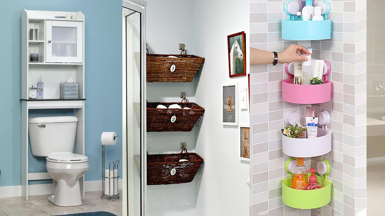 20 Small Bathrooms With Creative Storage Ideas within dimensions 1280 X 720
