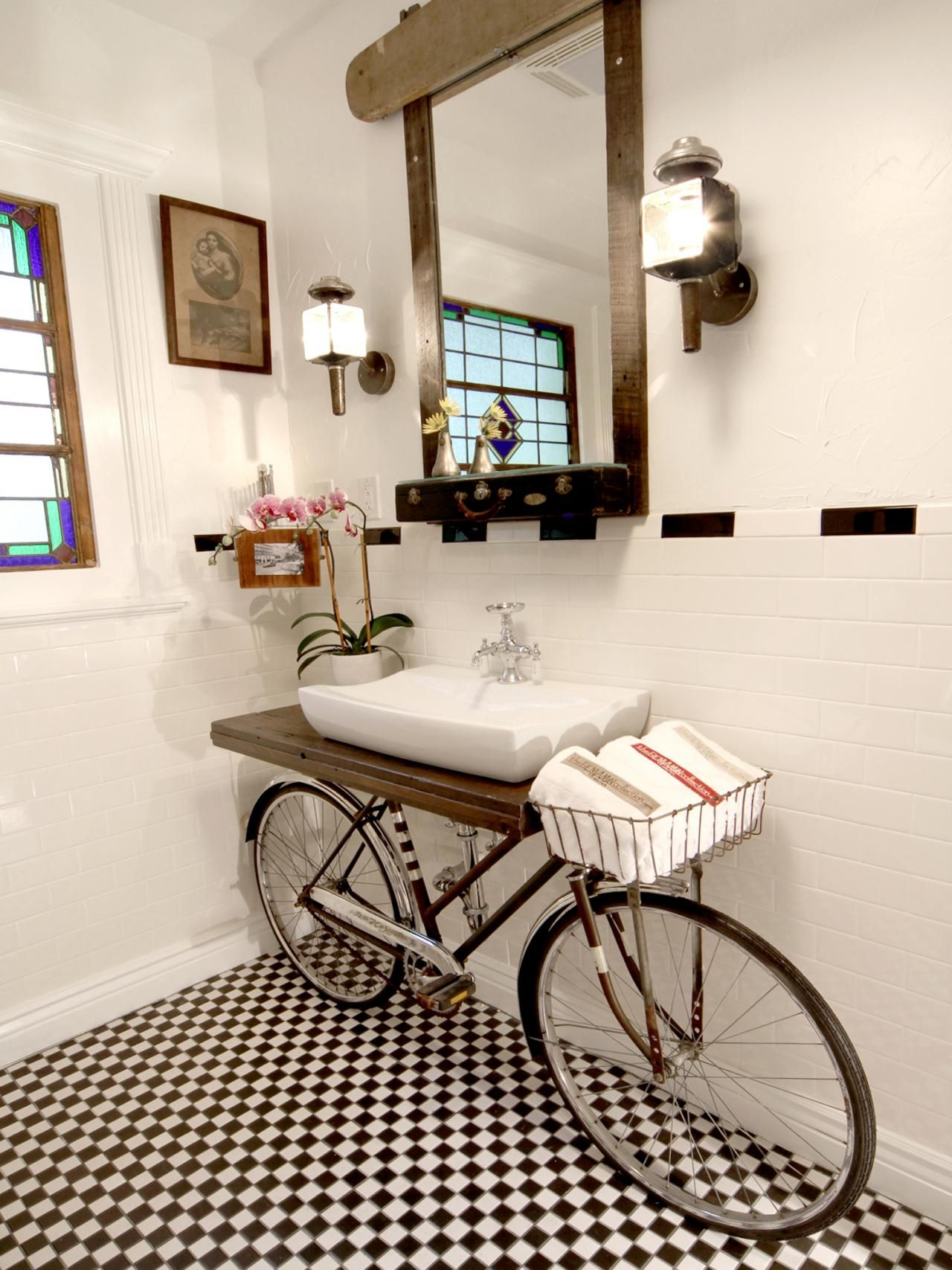 20 Upcycled And One Of A Kind Bathroom Vanities Rooms For pertaining to sizing 1280 X 1707