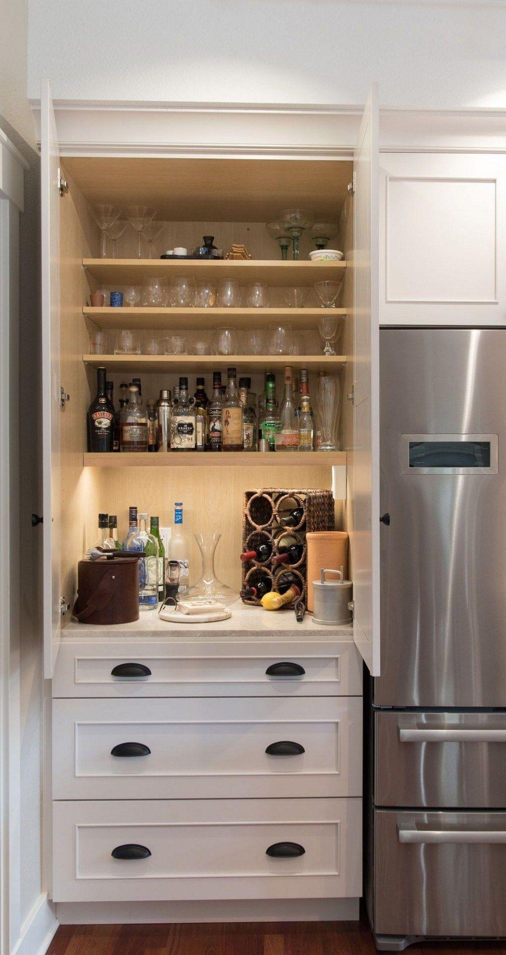 22 Creative Hidden Kitchen Storage Solutions Alladecor for dimensions 1033 X 1949
