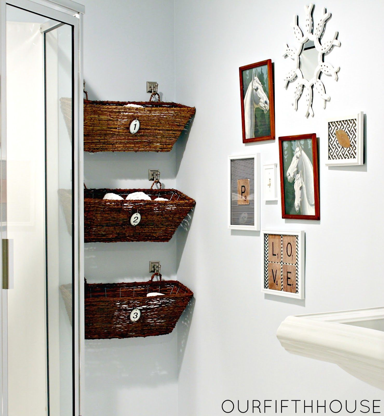 22 Small Bathroom Storage Ideas Wall Storage Solutions And with size 1479 X 1600