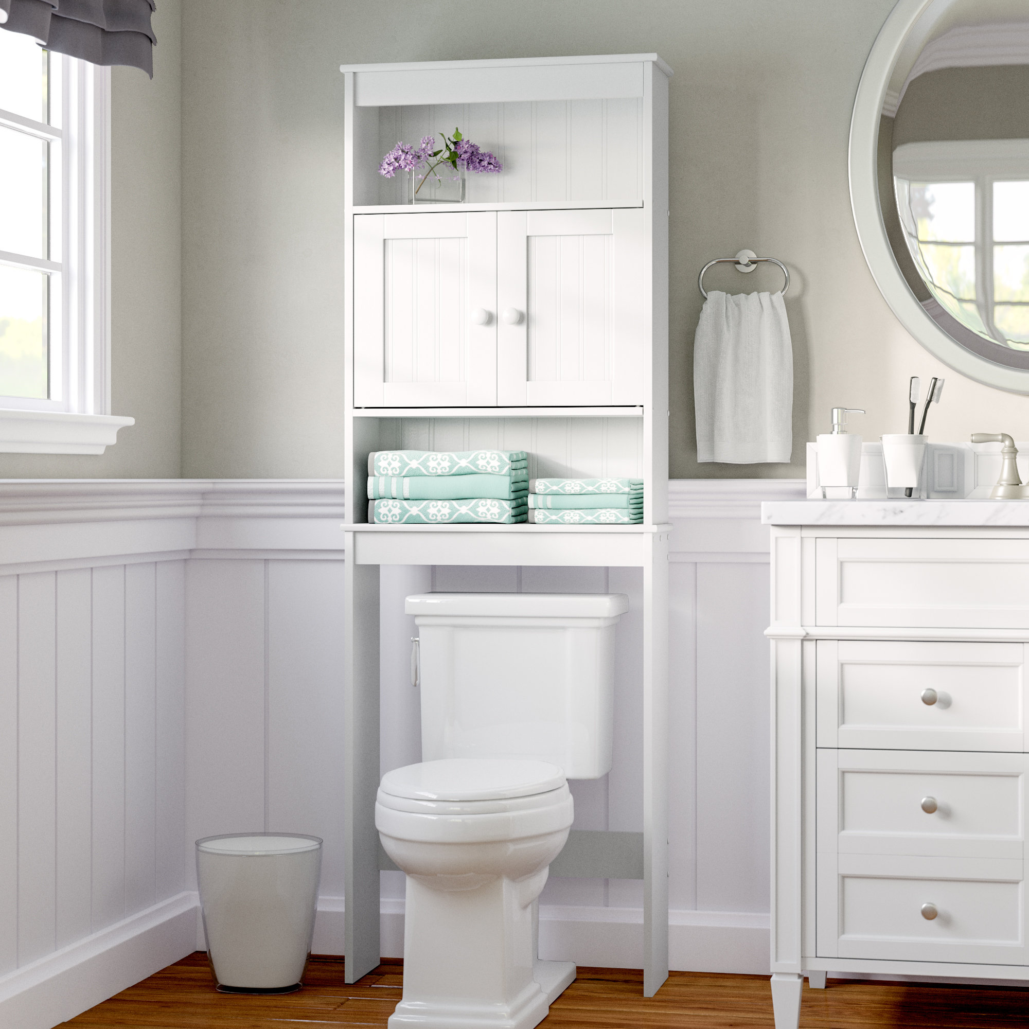 2325 W X 665 H Over The Toilet Storage regarding size 2000 X 2000