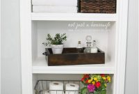 25 Best Built In Bathroom Shelf And Storage Ideas For 2019 intended for proportions 930 X 1477