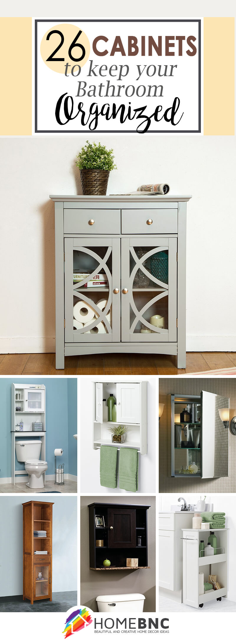 26 Best Bathroom Storage Cabinet Ideas For 2019 inside proportions 800 X 2176