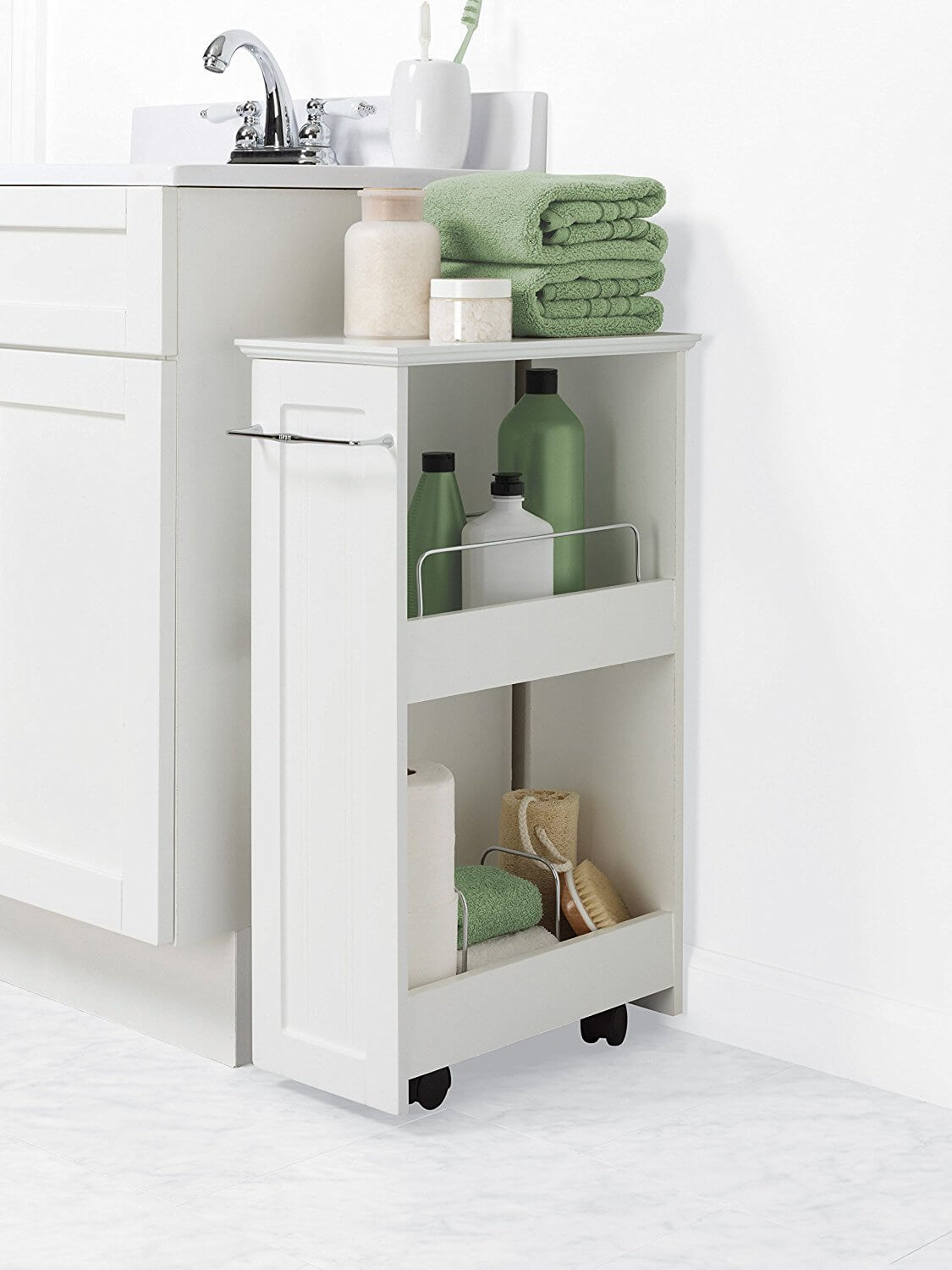 26 Best Bathroom Storage Cabinet Ideas For 2019 pertaining to sizing 1125 X 1500
