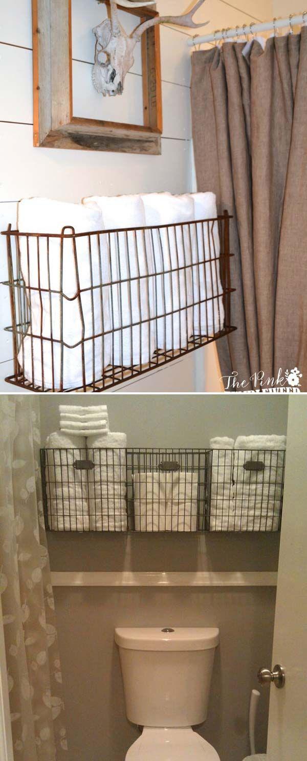 27 Farmhouse Inspired Bathroom Storage You Should Try Gone inside size 600 X 1484