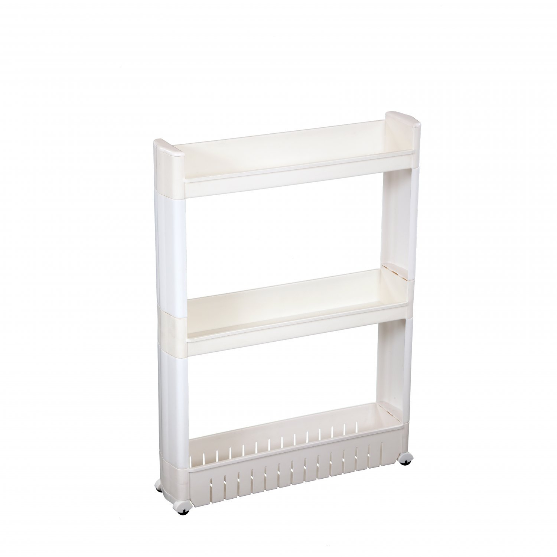 3 Tier Slide Out Kitchen Bathroom Storage Tower Shelf Organiser with measurements 1500 X 1500