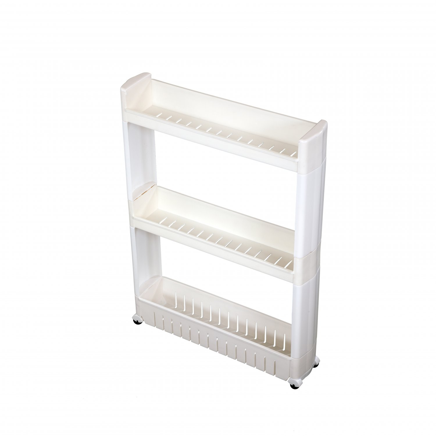 3 Tier Slide Out Kitchen Bathroom Storage Tower Shelf Organiser within proportions 1500 X 1500