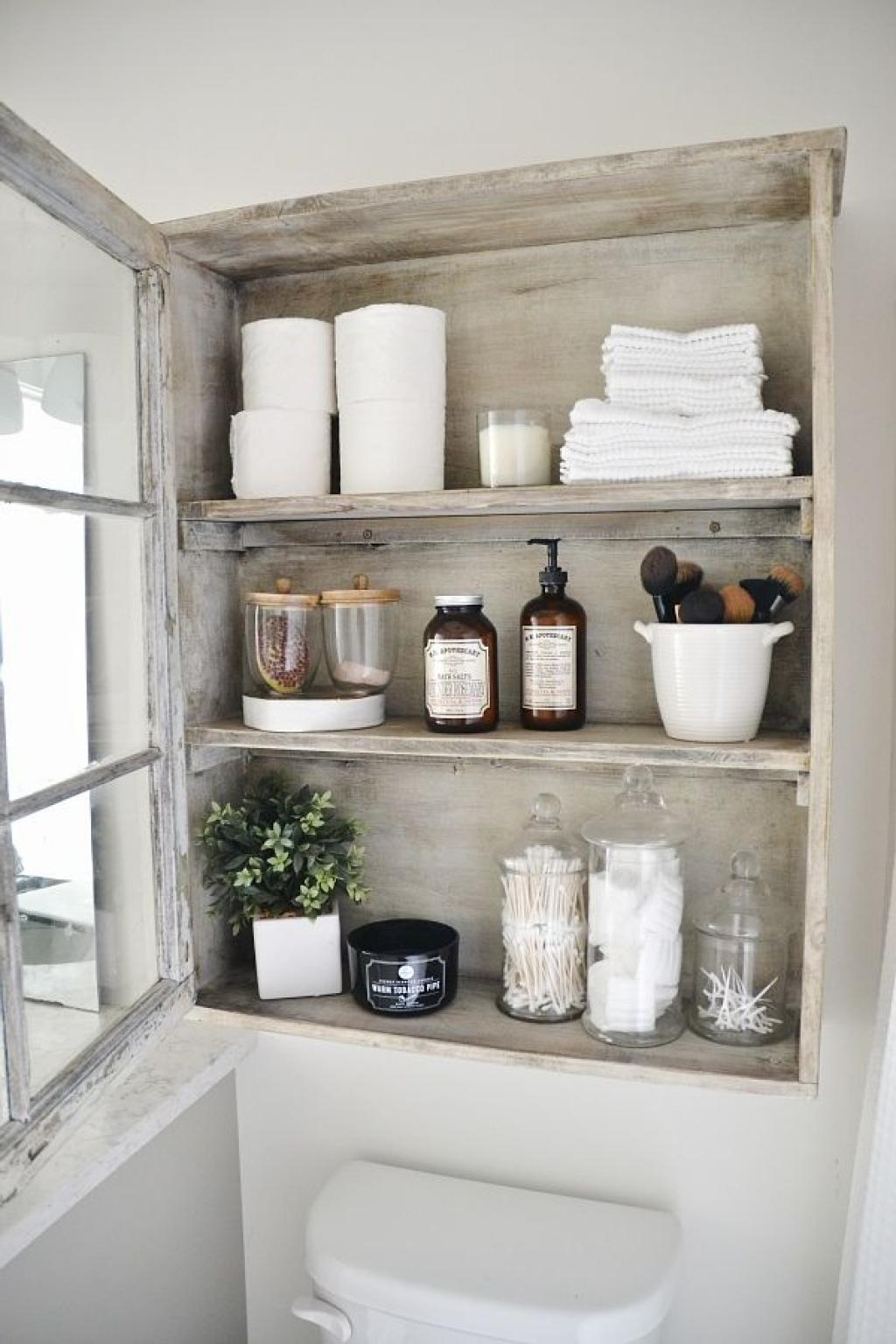 30 Best Bathroom Storage Ideas And Designs For 2019 for size 1024 X 1536