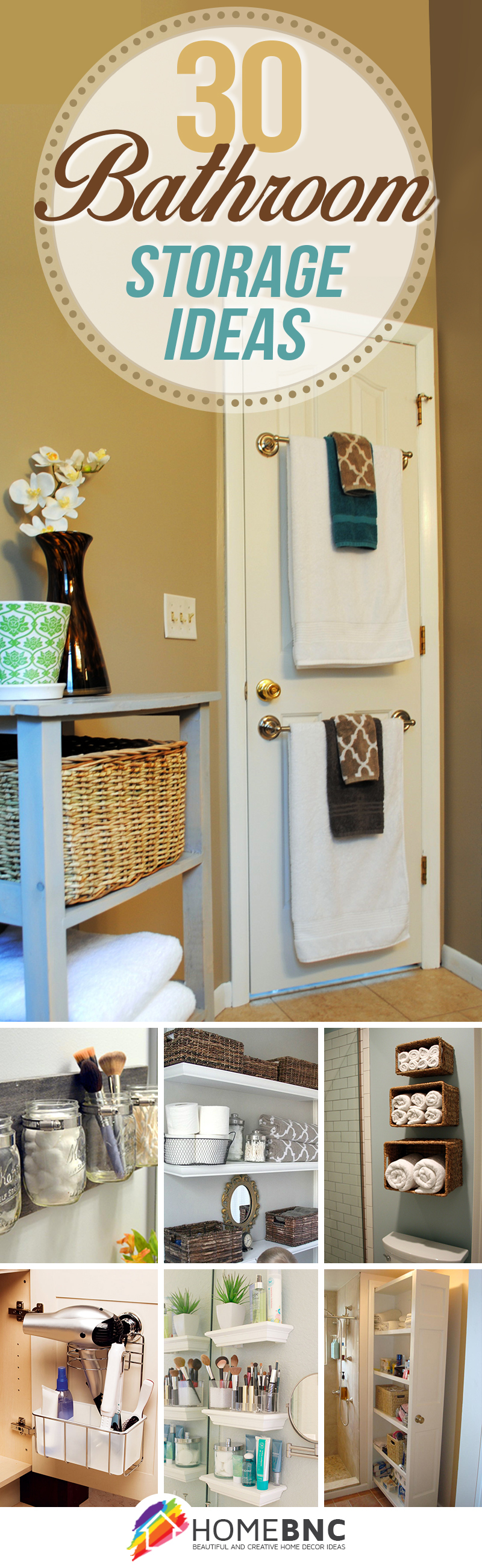 30 Best Bathroom Storage Ideas And Designs For 2019 inside dimensions 800 X 2598