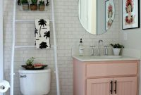 32 Best Over The Toilet Storage Ideas And Designs For 2019 intended for proportions 736 X 1104