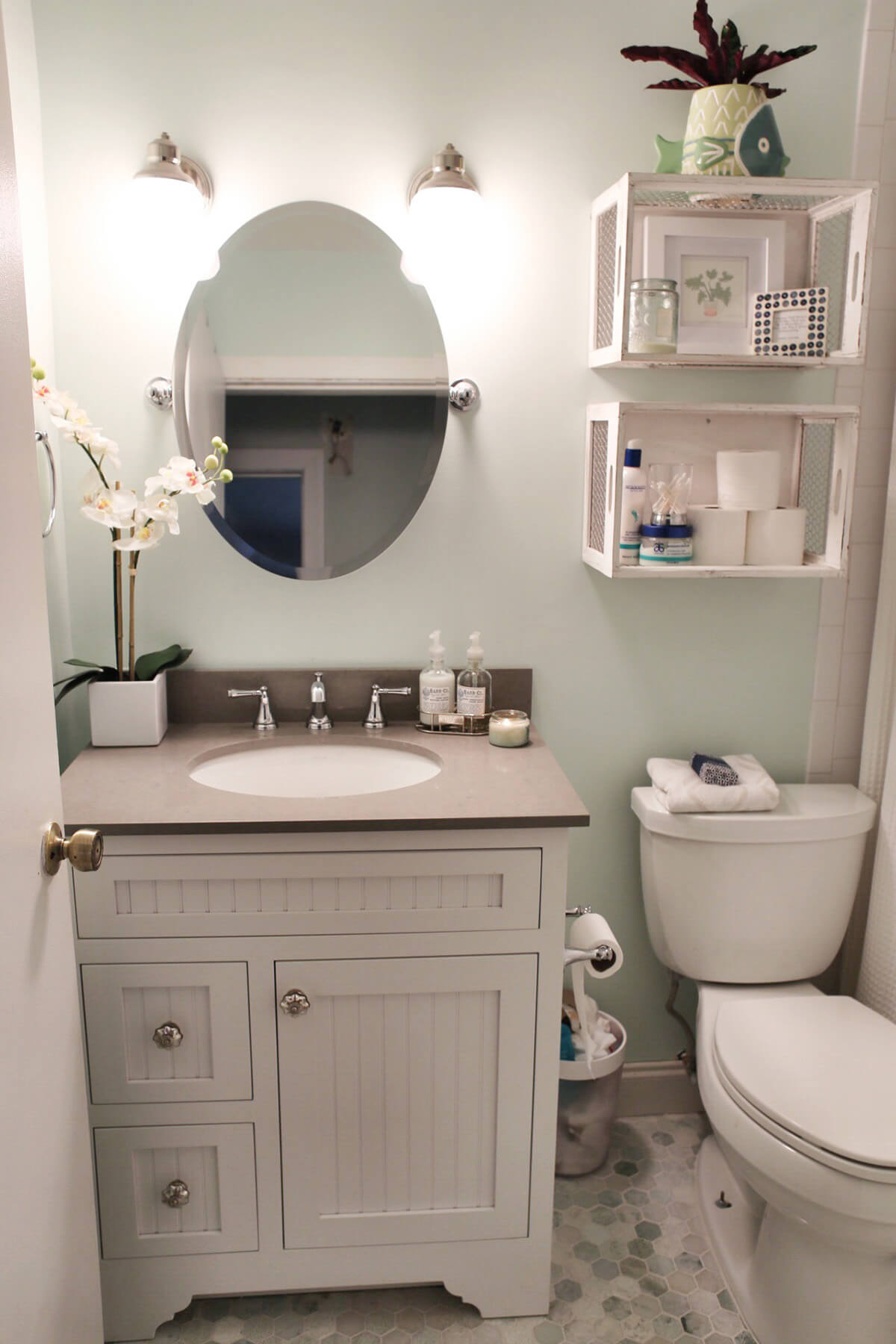32 Best Over The Toilet Storage Ideas And Designs For 2019 regarding proportions 1200 X 1800