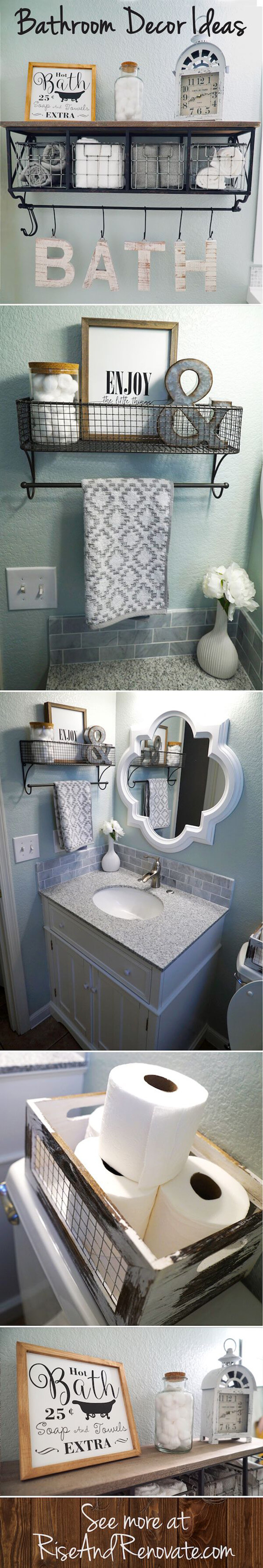 32 Best Over The Toilet Storage Ideas And Designs For 2019 regarding proportions 600 X 3569