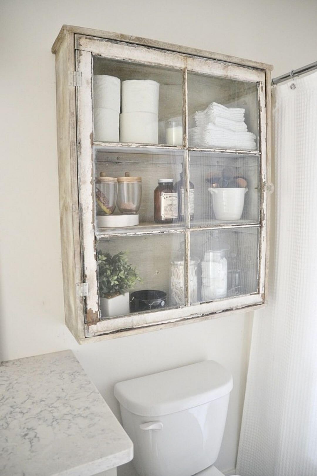 32 Best Over The Toilet Storage Ideas And Designs For 2019 regarding size 1080 X 1620