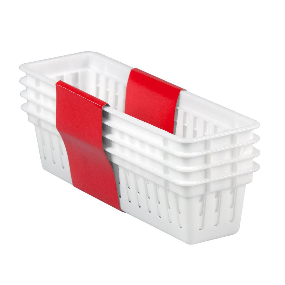 325 In X 235 In 4 Pack Plastic Basket Products regarding proportions 1000 X 1000
