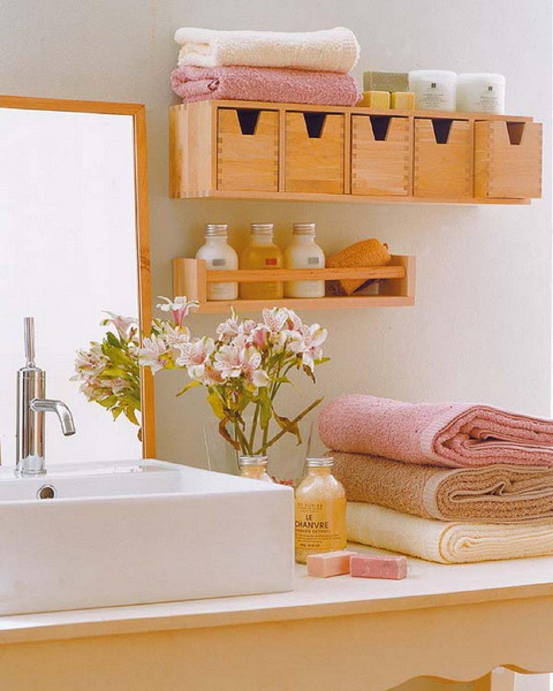33 Clever Stylish Bathroom Storage Ideas throughout dimensions 1104 X 1380