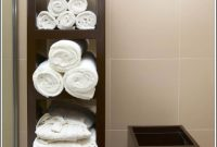 34 Best Towel Storage Ideas And Designs For 2019 for measurements 1024 X 1646