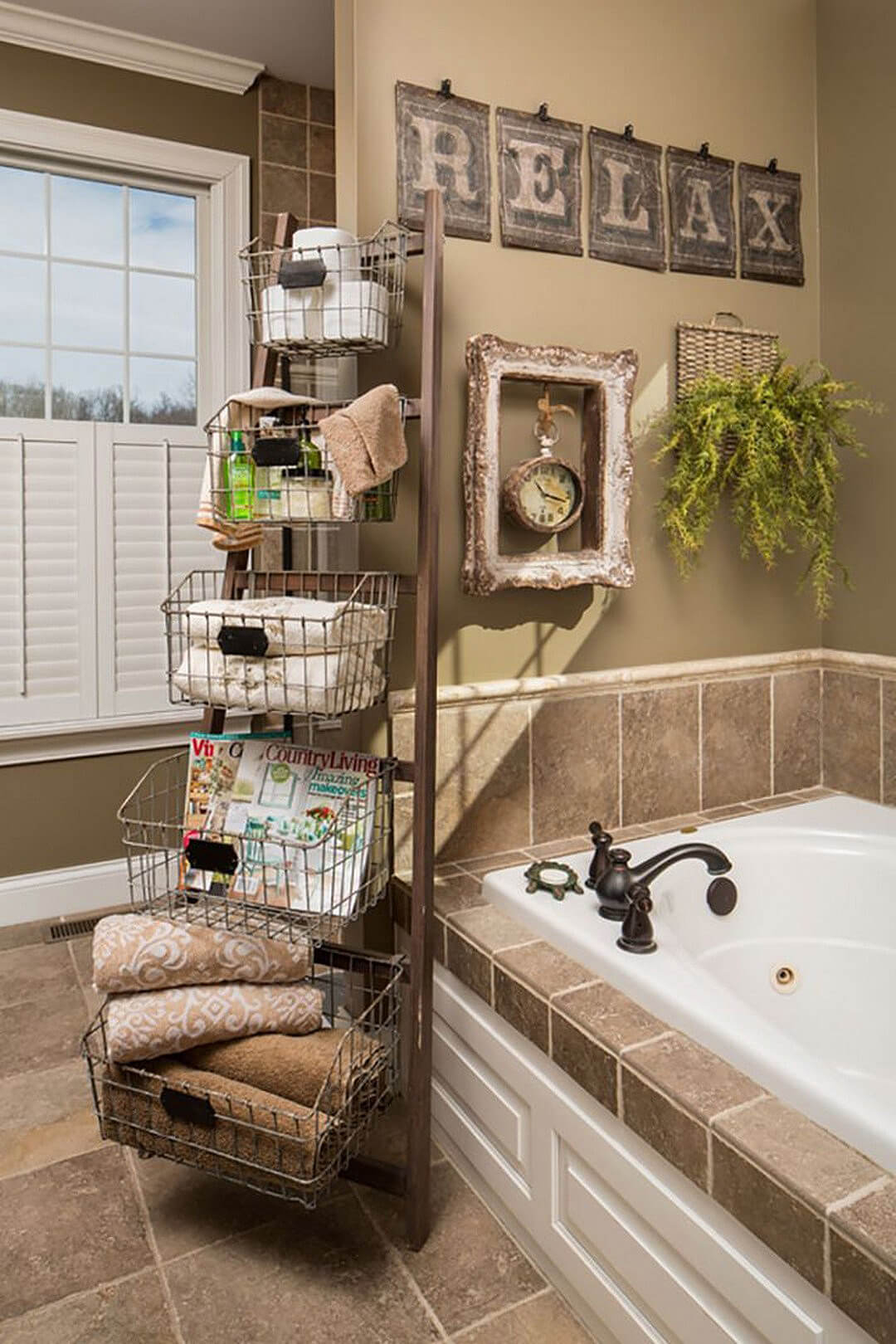 34 Best Towel Storage Ideas And Designs For 2019 for size 1080 X 1620