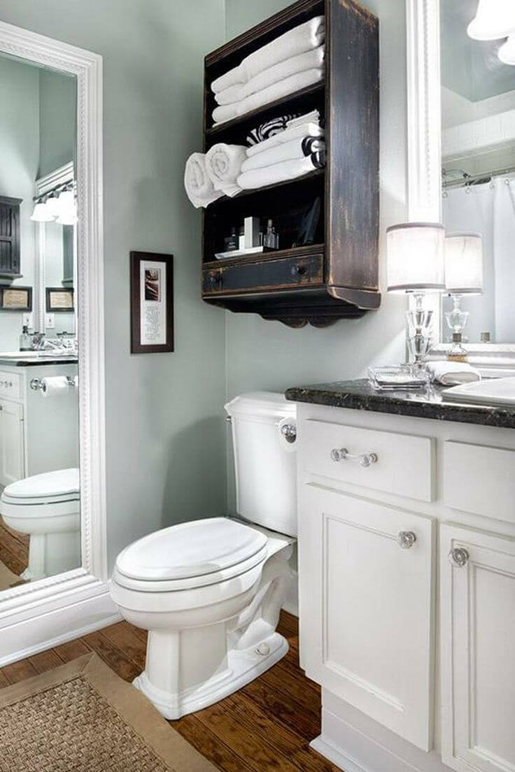 34 Best Towel Storage Ideas And Designs For 2019 pertaining to measurements 736 X 1104