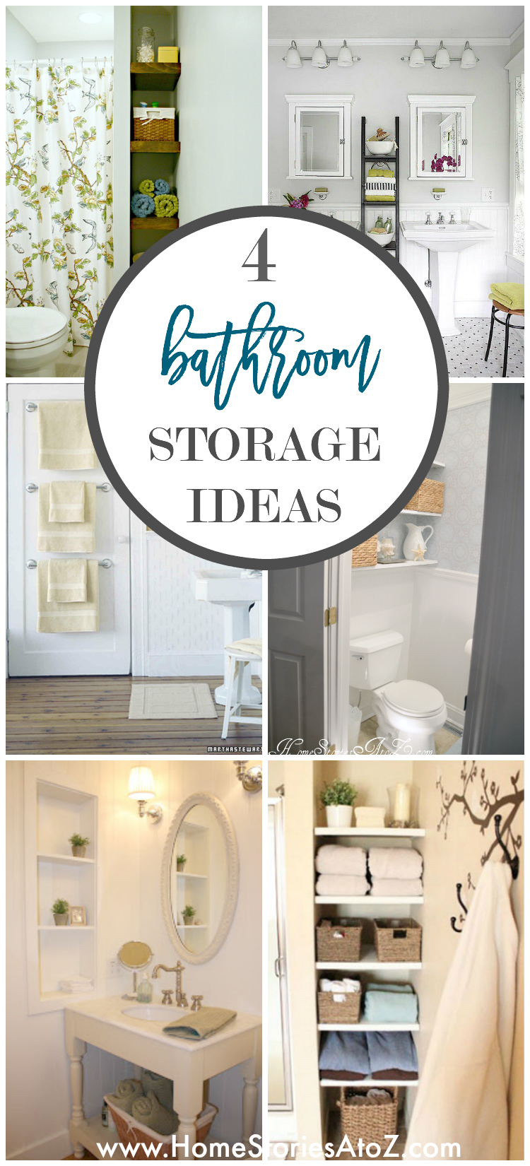 4 Tips To Creating More Bathroom Storage with measurements 750 X 1650