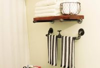 42 Best Diy Bathroom Storage And Organizing Ideas For 2019 throughout size 1800 X 2562
