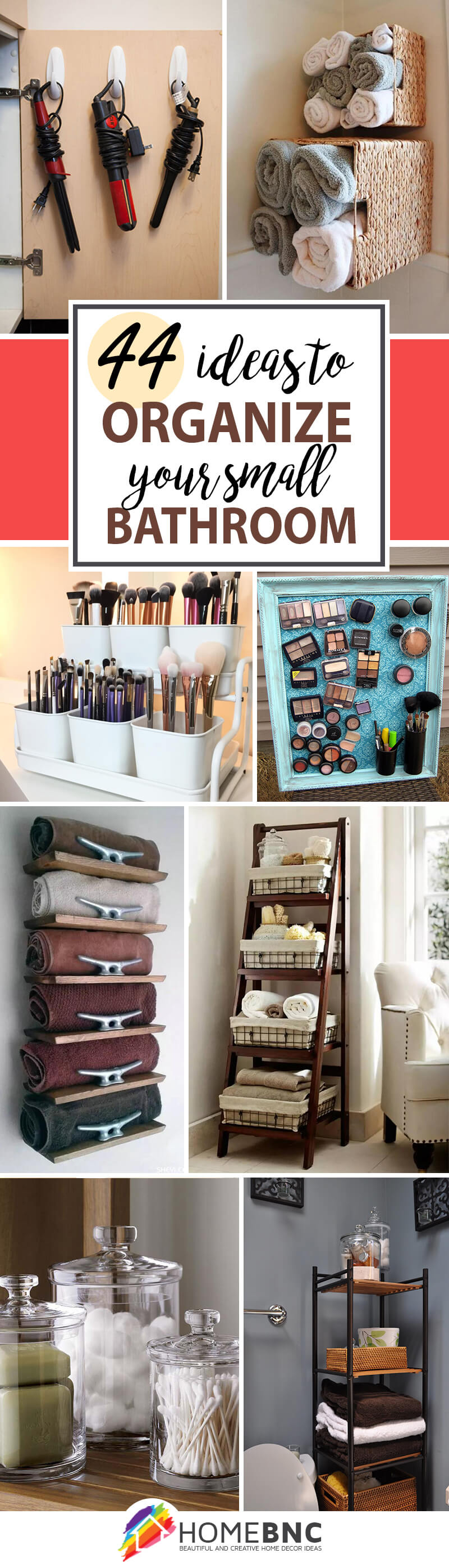 44 Best Small Bathroom Storage Ideas And Tips For 2019 for size 800 X 2787