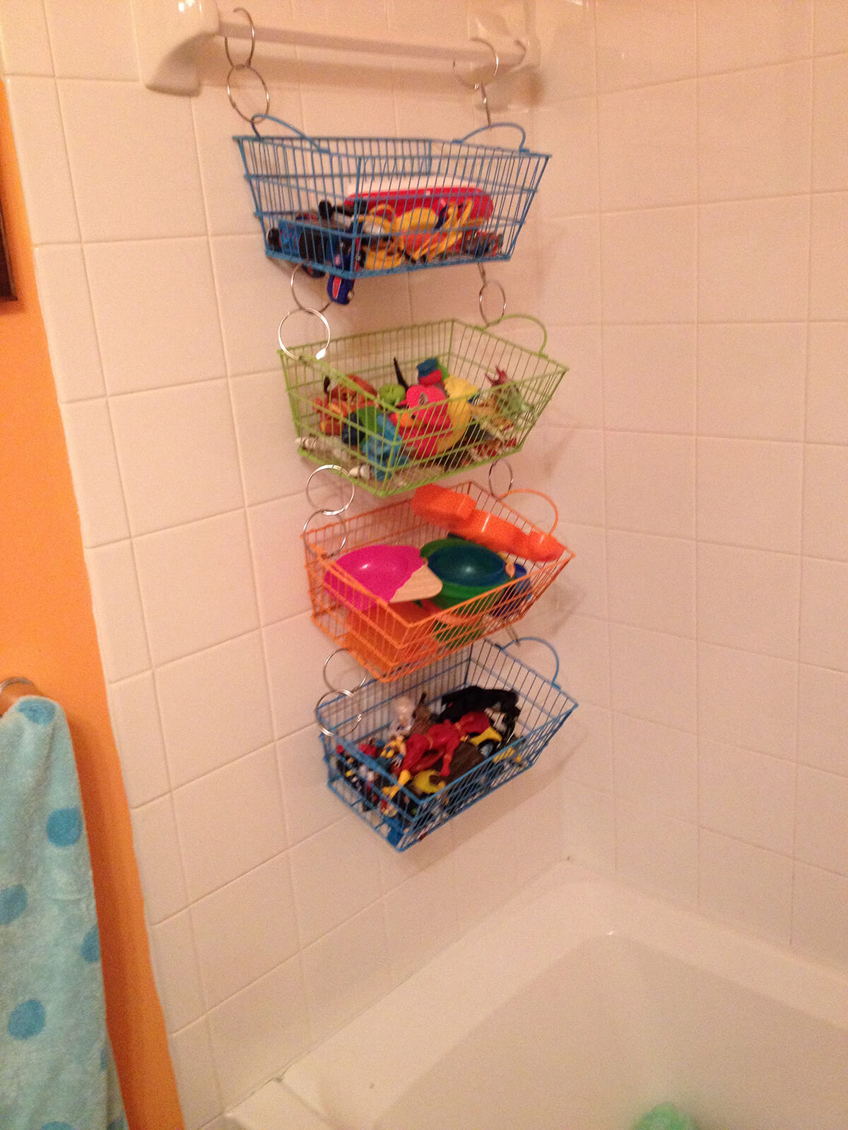 45 Best Hanging Bathroom Storage Ideas For 2019 inside dimensions 1200 X 1600