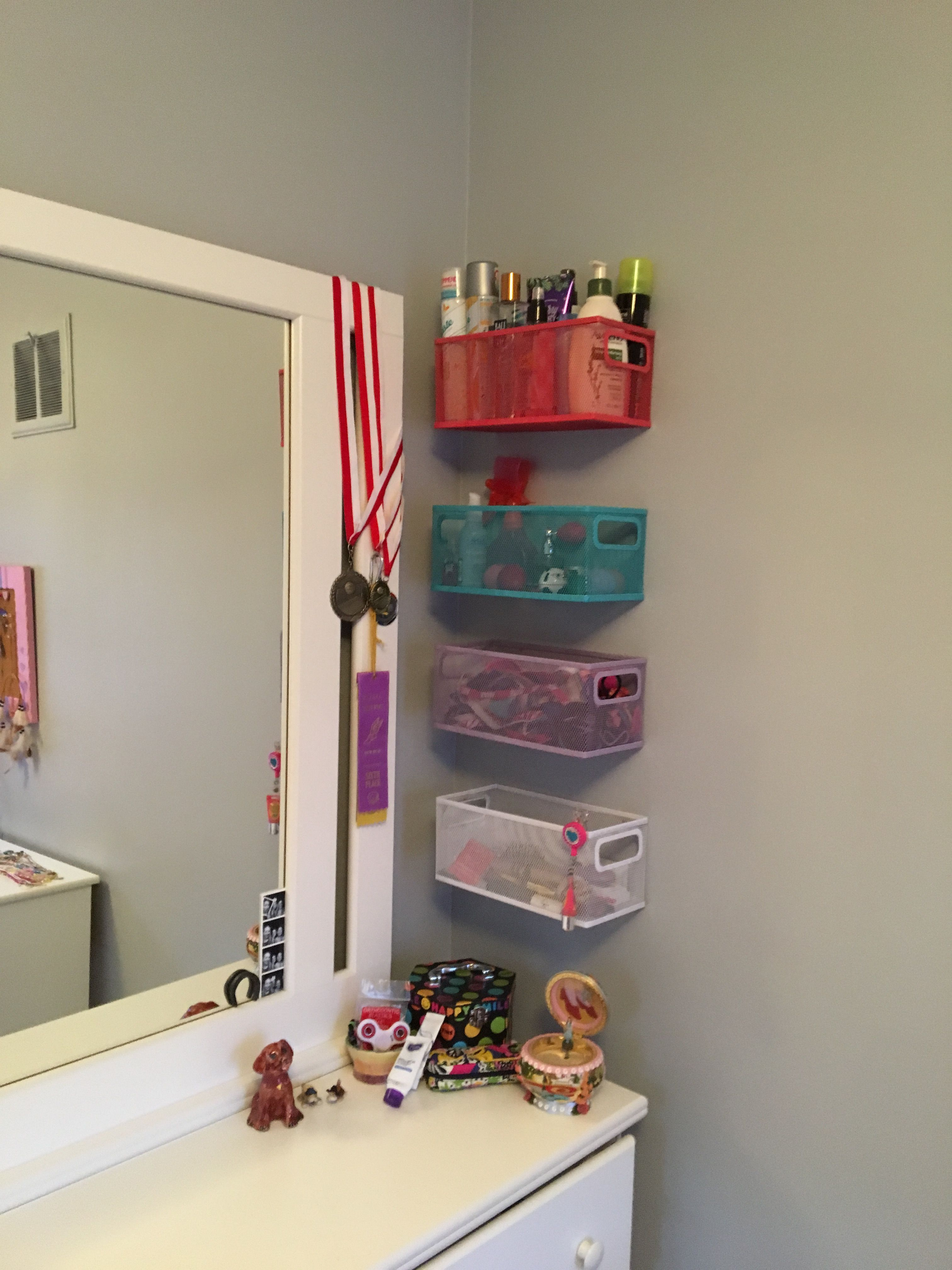 45 Brilliant Makeup Organizer Storage Ideas For Girls for dimensions 3024 X 4032