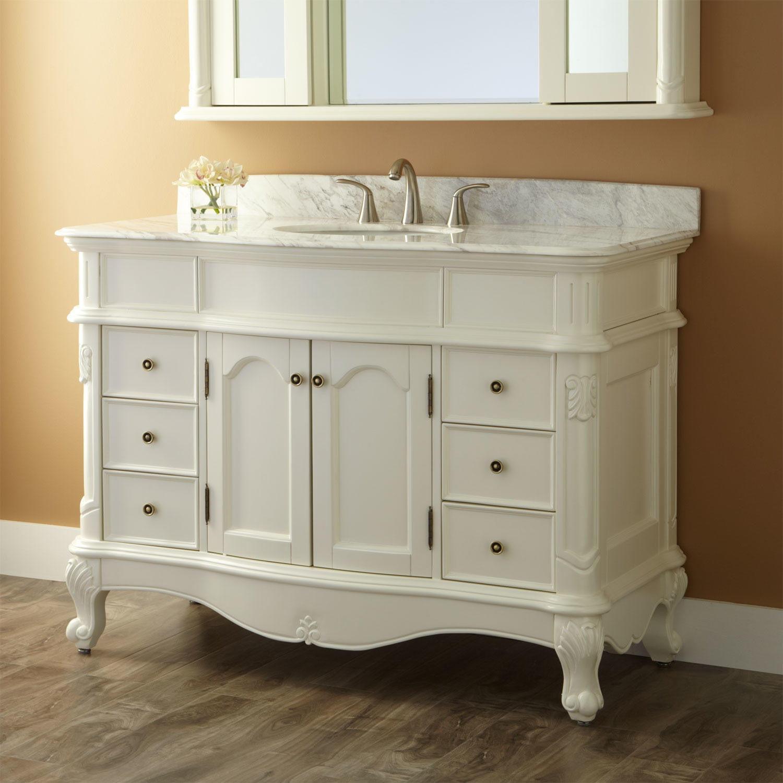 48 Sedwick Creamy White Vanity throughout size 1500 X 1500