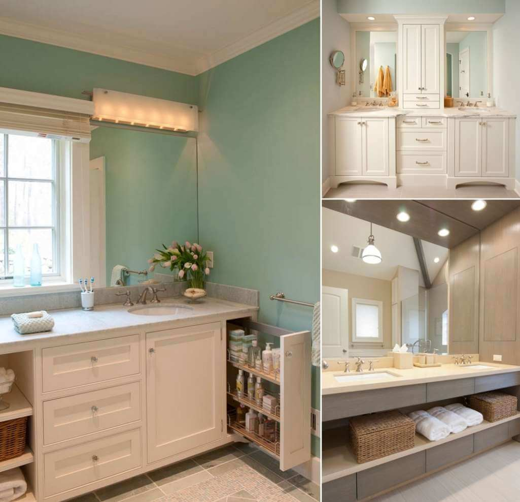 8 Clever Ways To Maximize Storage Inside Your Bathroom Vanity inside measurements 1025 X 988
