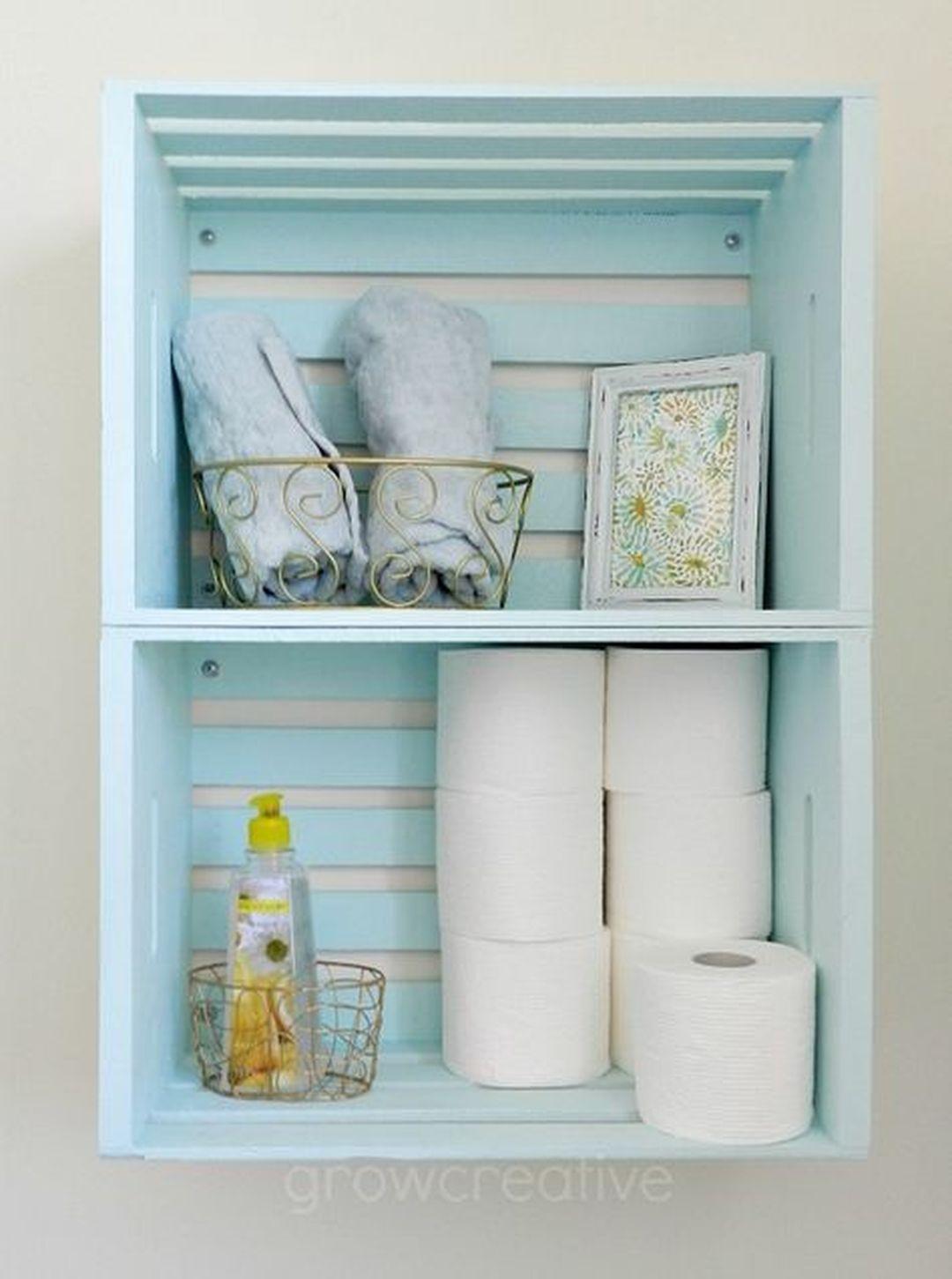 85 Smart And Easy Bathroom Storage Ideas Bathrooms Ideas inside measurements 1080 X 1451