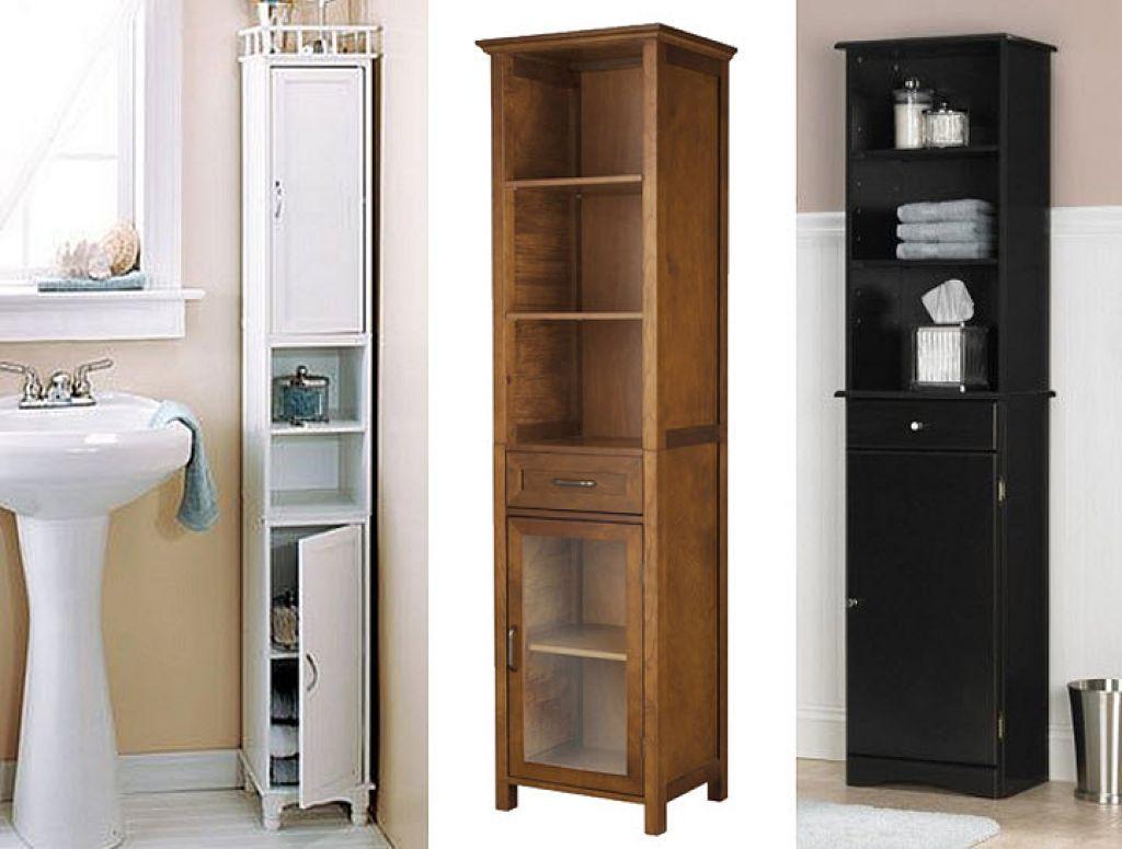Amazing Narrow Bathroom Cabinets 1 Tall Narrow Bathroom pertaining to sizing 1024 X 775