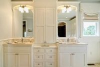 Bath Storage Cabinets Bathroom Vanities With Tower Vanity for measurements 1024 X 768