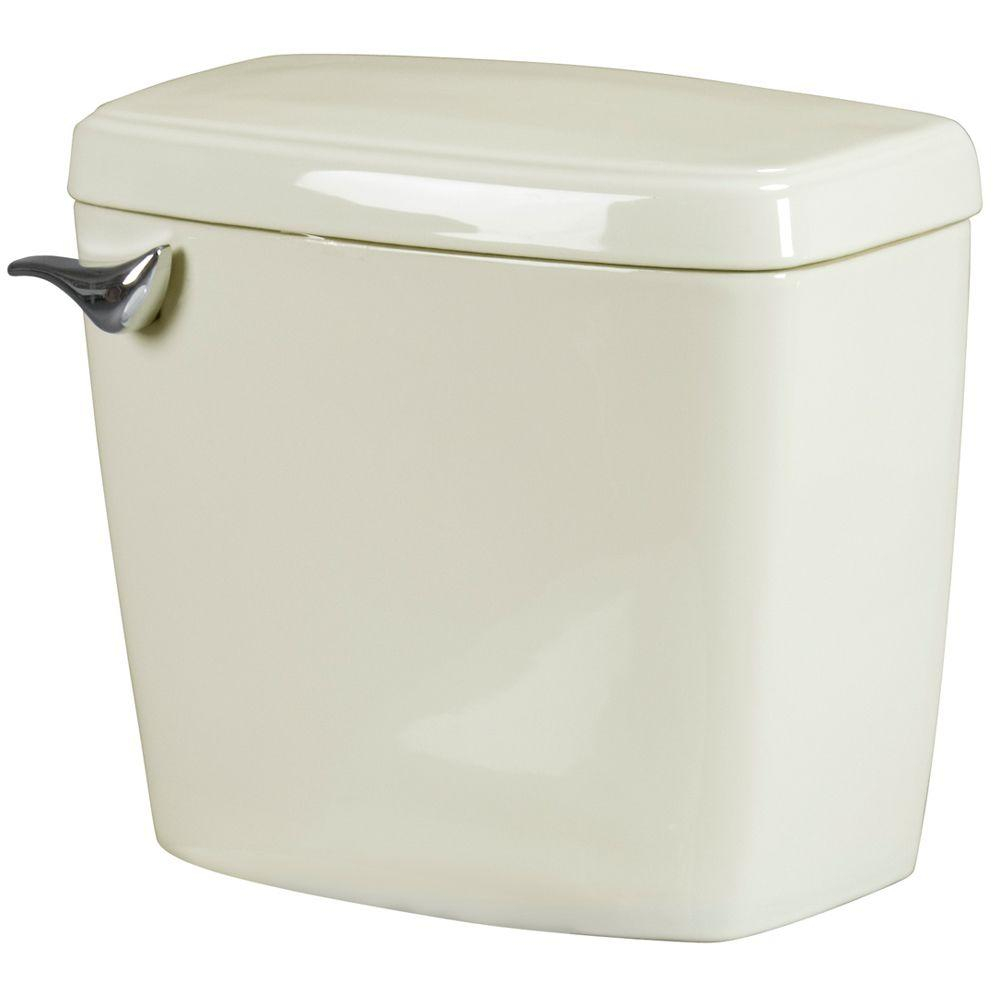 Bathroom Anywhere 16 Gpf Toilet Tank Only In Bone with regard to sizing 1000 X 1000