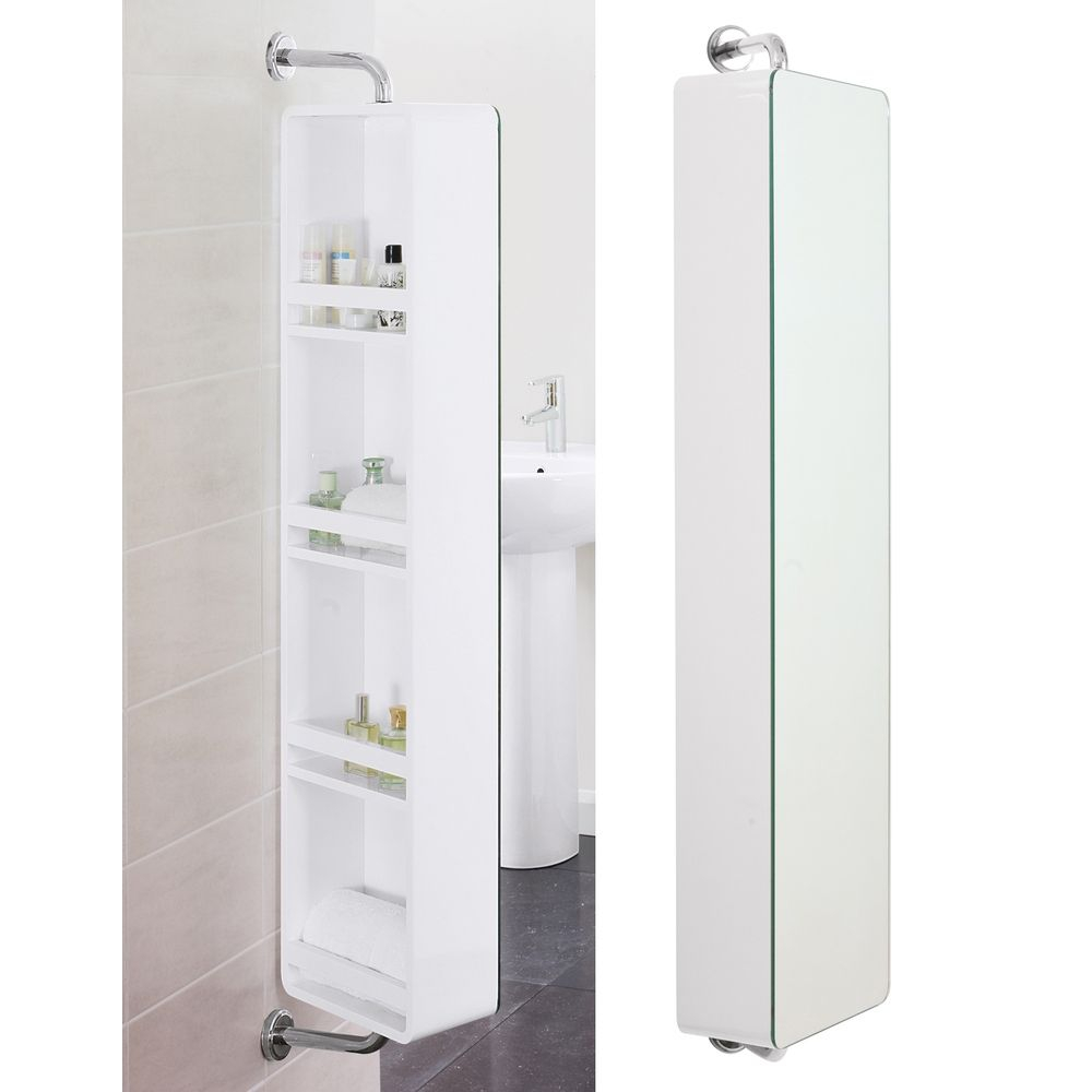 Bathroom Cabinet With Swivel Mirror Bathroom In 2019 inside proportions 1000 X 1000